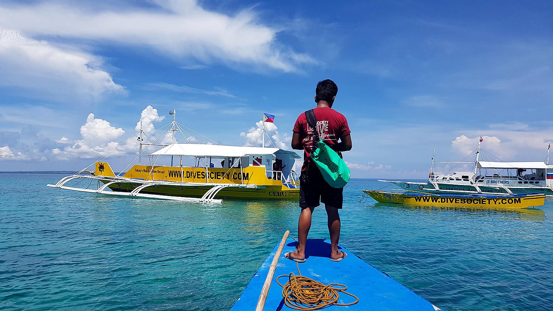 Dive Boats Dive Society Malapascua