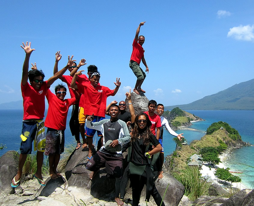 Team Dive Society Malapascua