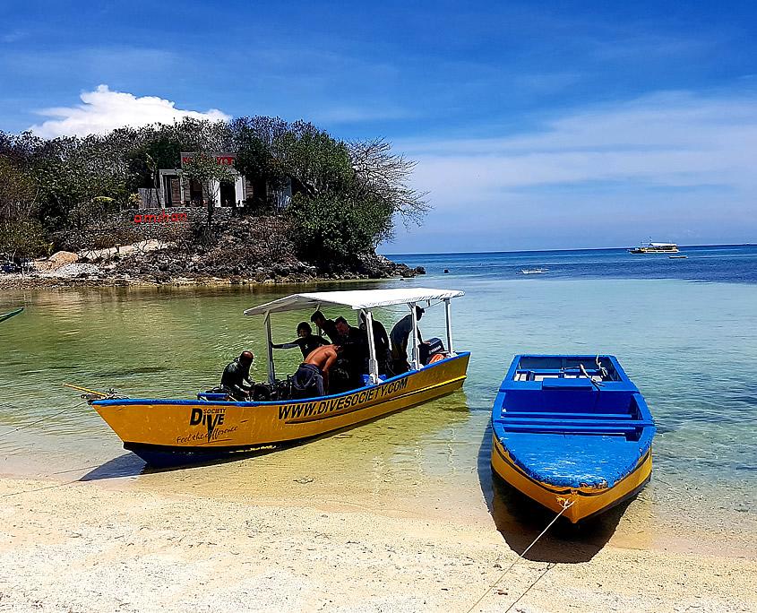 Speedboat Dive Society Malapascua